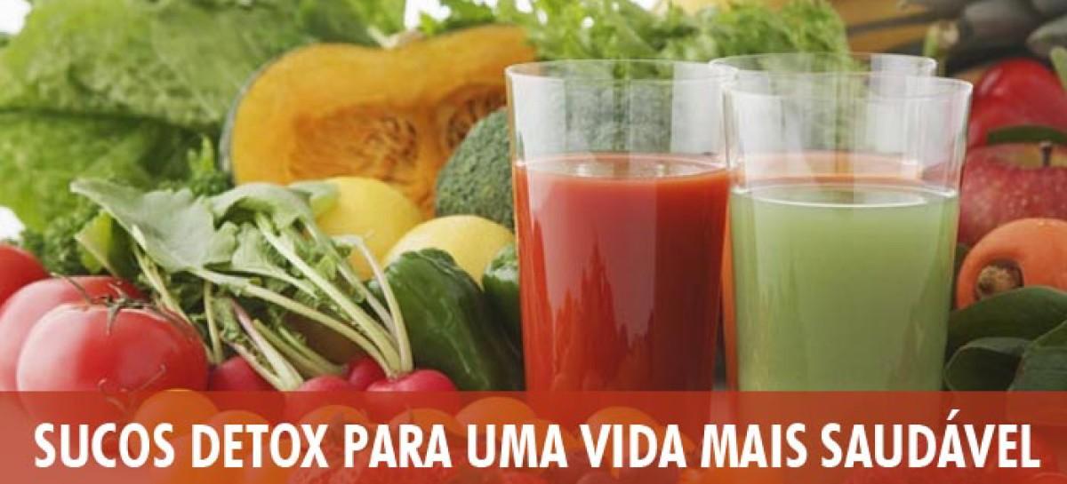 Sucos Detox para uma Vida mais Saudável