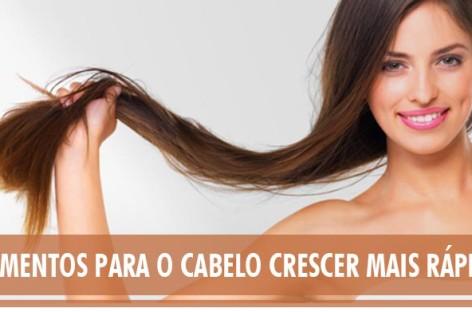 Descubra como fazer o cabelo crescer mais rápido