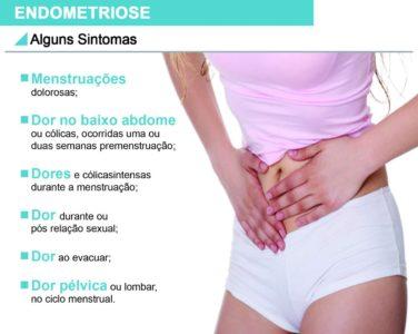 Conheça os sintomas de endometriose
